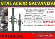 PUNTALES DE ACERO GALVANIZADO