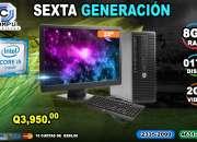 COMPUTADORAS HP COREi5 DE 6TA GENERACIÓN