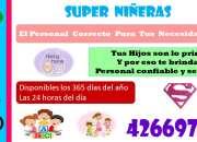 SUPER NIÑERAS TODOS LOS DIAS