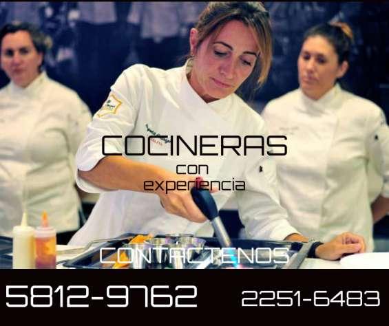 Cocineros con experiencia