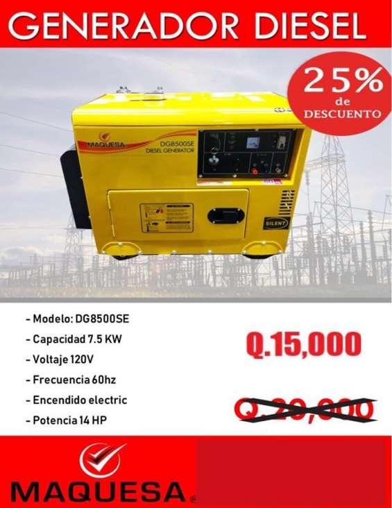 Generador diesel ofertado
