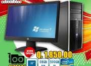 COMPUTADORAS COREi3, 08GB, 500HD, LCD 22P, A TAN SOLO Q 1,850.00