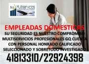 Su seguridad es nuestro compromiso,servicios domesticos