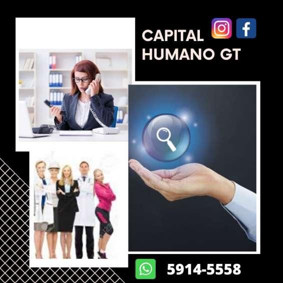 Capital humano gt servicio empresarial, domestico y outsourcing