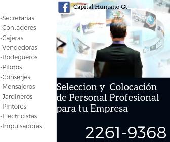 Servicio domestico / capital humano gt