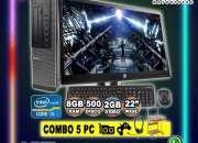 COMBO COMPLETO DE COMPUTADORAS DELL PARA JUEGOS