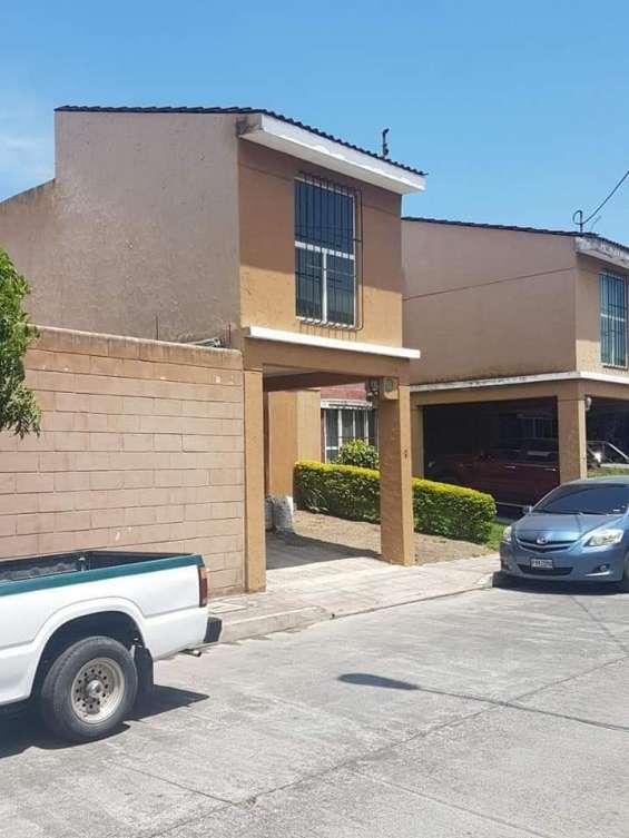 Vendo casa en residenciales prados del tabacal ii, zona 5 de villa nueva, guatemala