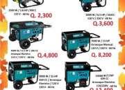 Generadores de distintas capacidades