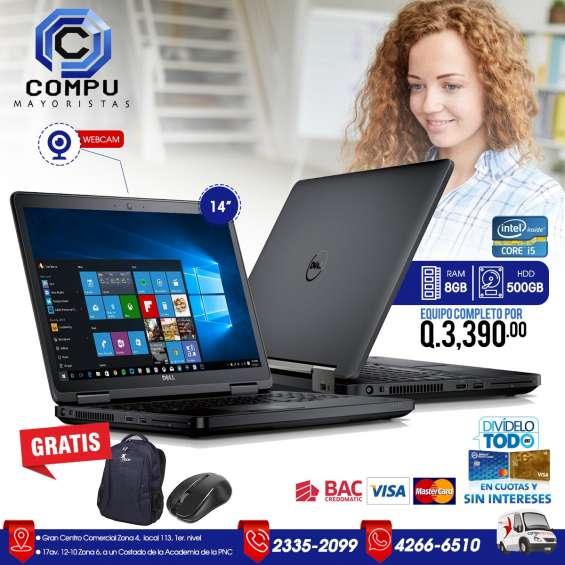 Laptops dell para trabajos exigentes